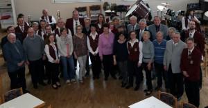 In würdigem Rahmen ehrte der Musikverein Eintracht Rettigheim langjährige und verdiente Mitglieder.