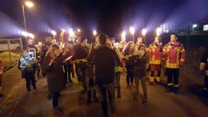 Feuerwehr und Musikverein